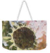 Faded Flower Weekender Tote Bag