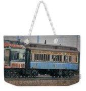 Faded Glory - B And O Railroad Car Weekender Tote Bag