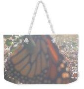 Faded Monarch  Weekender Tote Bag