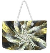 Faintly Flowered Weekender Tote Bag