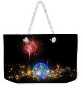 Fair Fireworks Weekender Tote Bag