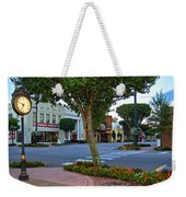 Fairhope Ave With Clock Weekender Tote Bag