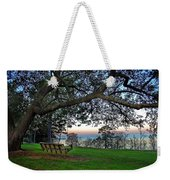 Fairhope Swing On The Bay Weekender Tote Bag