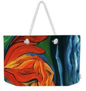 Fairies Of Fire And Ice Weekender Tote Bag