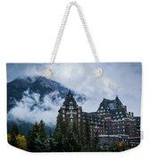 Fairmont Springs Hotel In Banff, Canada Weekender Tote Bag