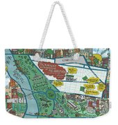 Fairmount Neighborhood Map Weekender Tote Bag