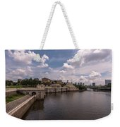 Fairmount Water Works And Philadelphia Museum Of Art Weekender Tote Bag