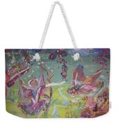 Fairy Ballet Weekender Tote Bag