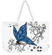 Fairy Fly Weekender Tote Bag