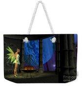 Fairy Haven Weekender Tote Bag