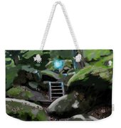 Fairy In The Wood Weekender Tote Bag