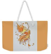 Fall Fairy Weekender Tote Bag