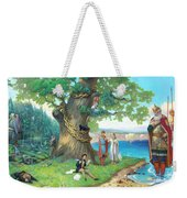 Fairy-tale Pushkin Lukomorye Weekender Tote Bag