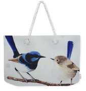 Fairy Wrens - I Love You Too  Weekender Tote Bag