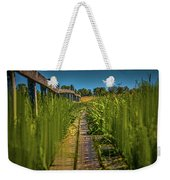 Fairy's View #h5 Weekender Tote Bag by Leif Sohlman