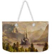 Fairytale Castle Weekender Tote Bag