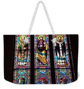 Faith In Stained Glass  Weekender Tote Bag