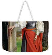 Faith Weekender Tote Bag