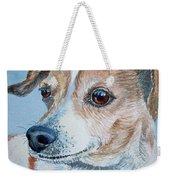 Beloved Dog Commission By Irina Sztukowski  Weekender Tote Bag