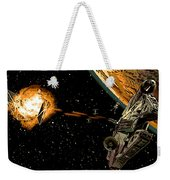 Falcon Fights Back Weekender Tote Bag