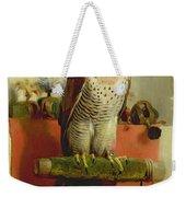 Falcon Weekender Tote Bag by Sir Edwin Landseer
