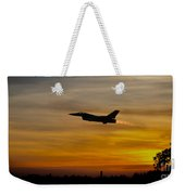 Falcon Sunset Weekender Tote Bag