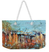 Fall Abstractions Weekender Tote Bag
