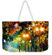 Fall Alley Weekender Tote Bag
