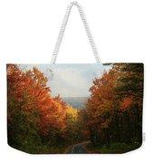 Fall Along Greenland Road Weekender Tote Bag