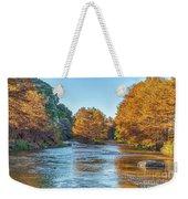 Fall Along The Frio River Weekender Tote Bag