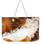 Fall And Winter Weekender Tote Bag
