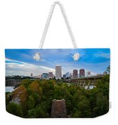 Fall Approaching In Richmond Weekender Tote Bag