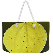 Fall Aspen Leaf Weekender Tote Bag