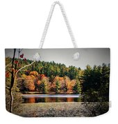Fall At Bass Lake Weekender Tote Bag