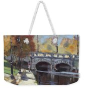 Fall At Delaware Park Buffalo Weekender Tote Bag