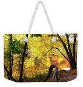 Fall At Lincoln Lake	 Weekender Tote Bag