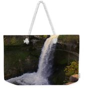 Fall At Minnehaha Falls Weekender Tote Bag