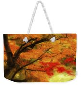Fall At The Temple Weekender Tote Bag
