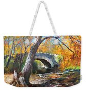 Fall At Three Sisters Islands Weekender Tote Bag