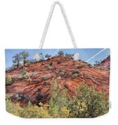 Fall Begins In Zion Weekender Tote Bag