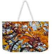 Fall Berries Weekender Tote Bag