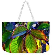 Fall Blackberry Weekender Tote Bag