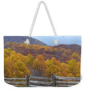 Fall Blend Weekender Tote Bag