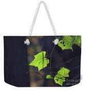 Fall Bokeh Weekender Tote Bag