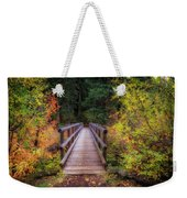 Fall Bridge Weekender Tote Bag