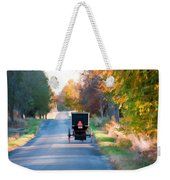 Fall Buggy Weekender Tote Bag
