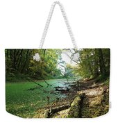 Fall By A River Weekender Tote Bag