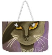 Fall Cat Weekender Tote Bag