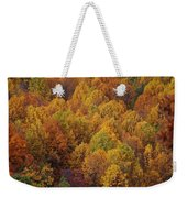 Fall Cluster Weekender Tote Bag