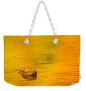 Fall Color Abstract Weekender Tote Bag